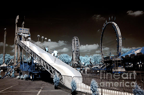 Carnival In Infrared Light Print by Paul W Faust -  Impressions of Light