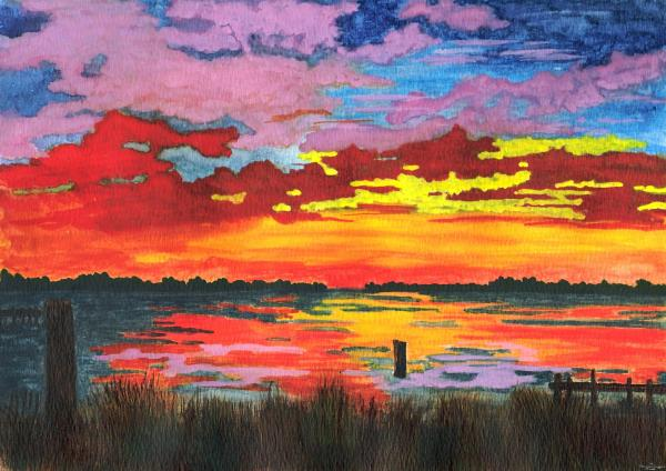 Patricia Griffin Brett - Carolina Sunset