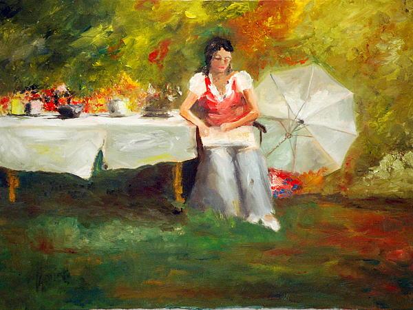 Carolina Tea Print by Phil Burton