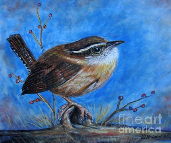 Carolina Wren Painting