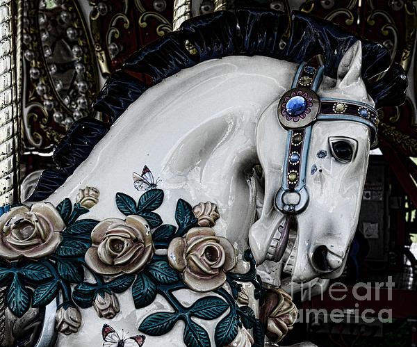 Carousel Horse - 8 Print by Paul Ward
