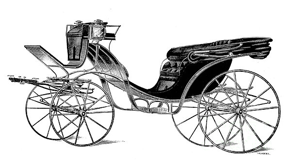 Carriage: Victoria Print by Granger