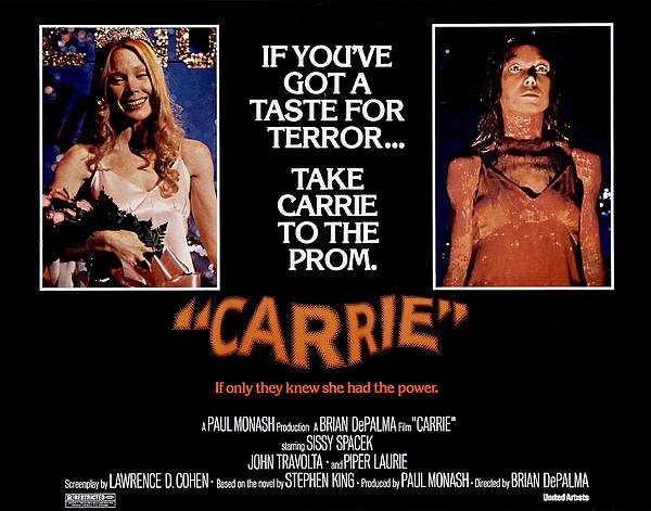 Carrie, Sissy Spacek, 1976 Print by Everett