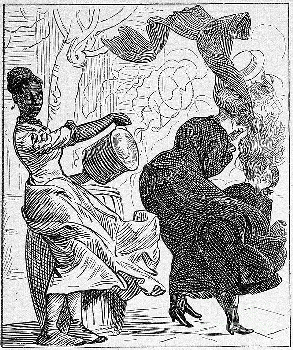 Cartoon: Slavery Print by Granger