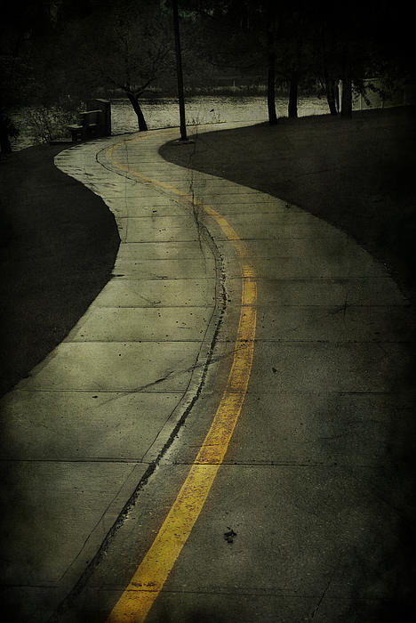 Casledowns Road Print by Jerry Cordeiro