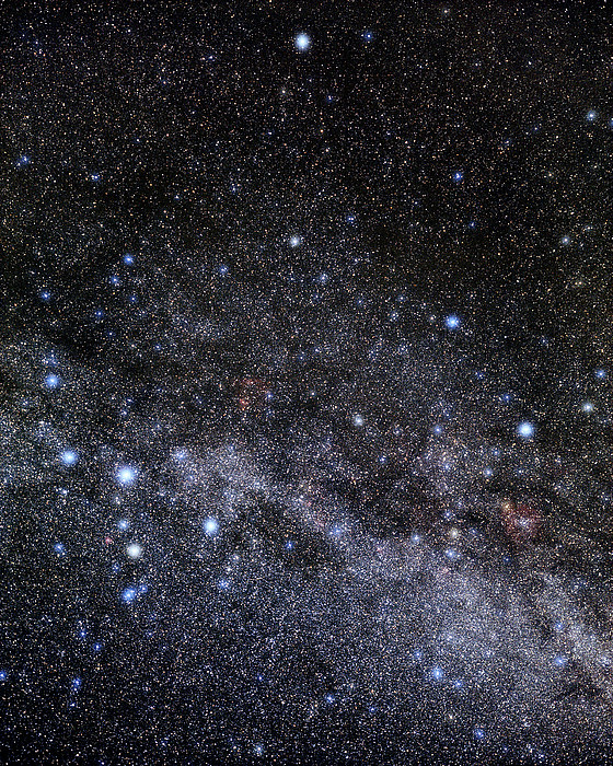 Cassiopeia And Cepheus Constellations Print by Eckhard Slawik
