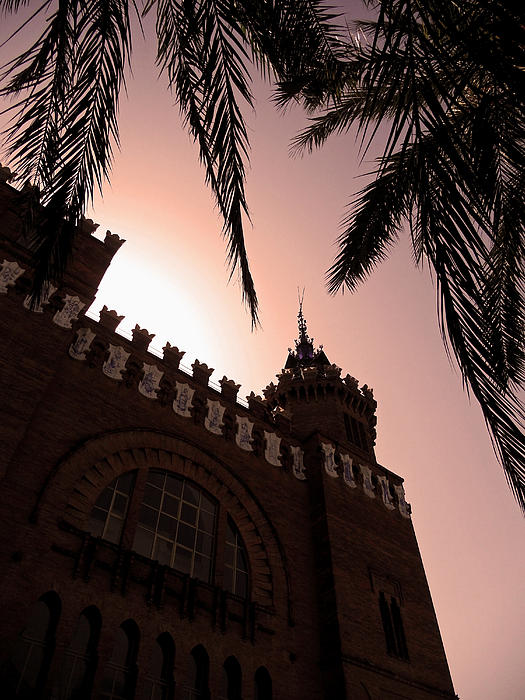 Castell Dels Tres Dragons - Barcelona Print by Juergen Weiss