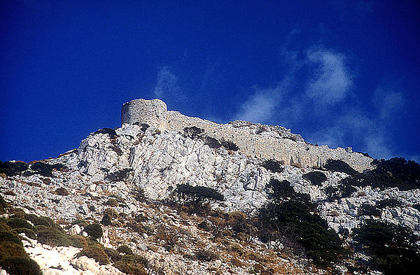 Castle Apalirou Print by Andonis Katanos