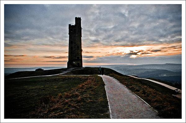 Castle Hill Print by Mark Britten