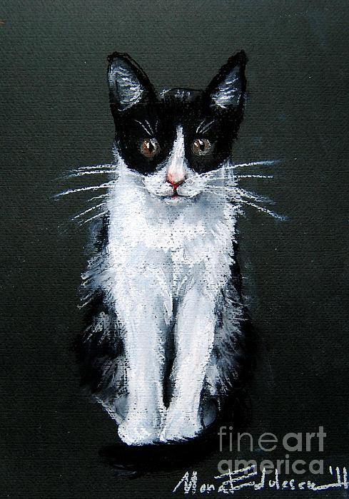 Cat I Print by Mona Edulesco