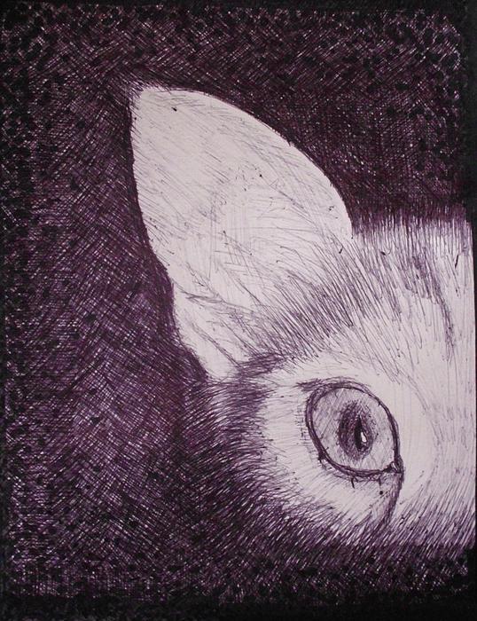Cat Lurking Print by SAIGON De Manila