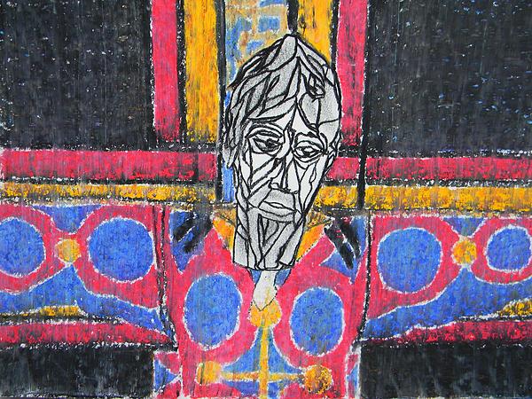 Catalan Jesus Print by Marwan George Khoury