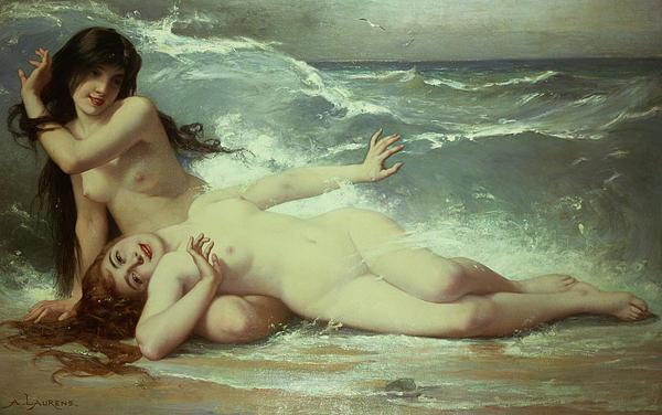 Catching Waves  Print by Paul Albert Laurens