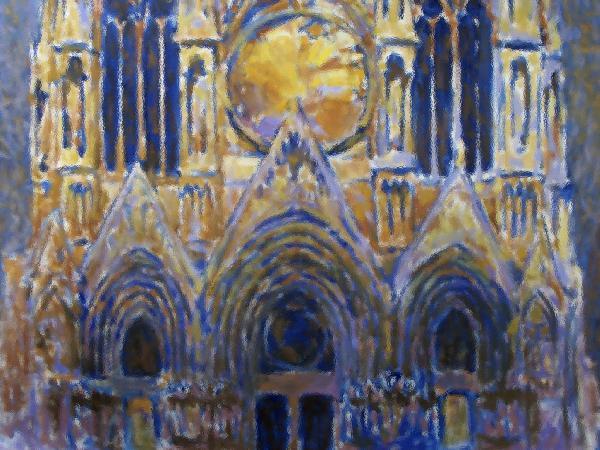 Cathedral 2 Print by Valeriy Mavlo