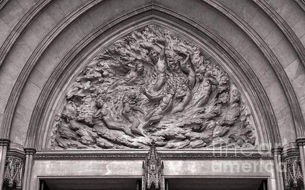 Cathedral Ex Nihilo Print by Susan Isakson