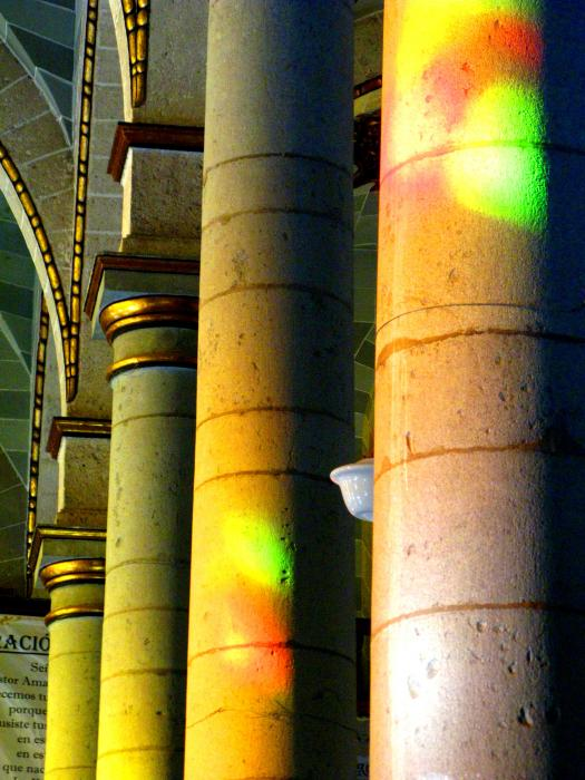 Cathedral Light By Michael Fitzpatrick Print by Olden Mexico