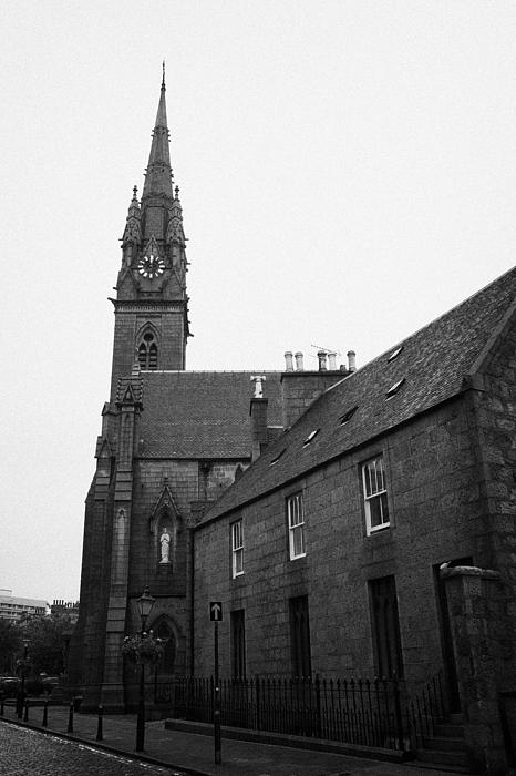 Catholic Cathedral Of St Mary Of The Assumption Aberdeen Scotland Uk Print by Joe Fox