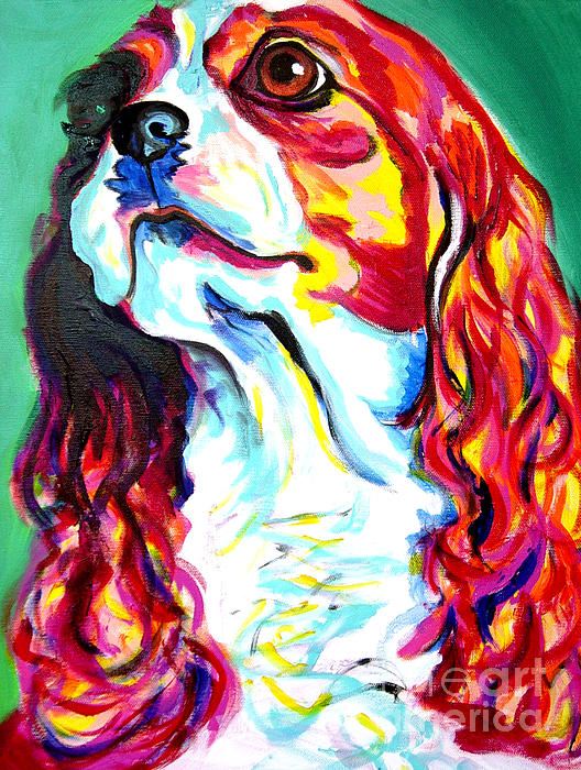 Cavalier - Herald Print by Alicia VanNoy Call