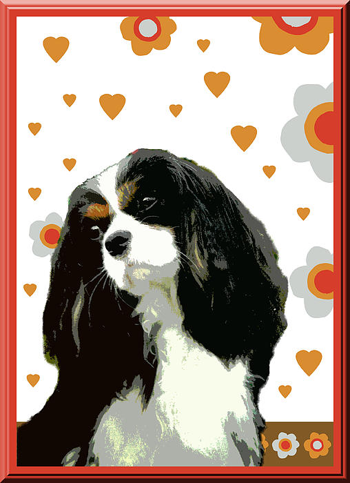 Cavalier King Charles Spaniel Print by One Rude Dawg Orcutt