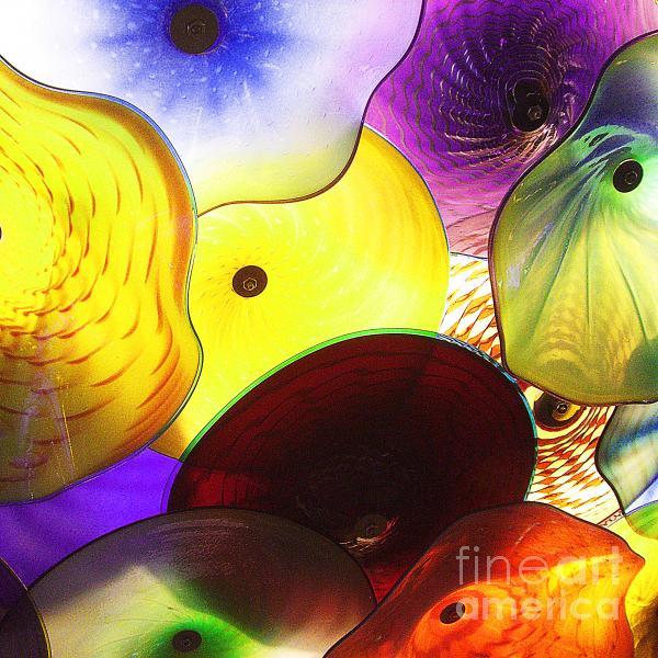 Celestial Glass 1 Print by Xueling Zou