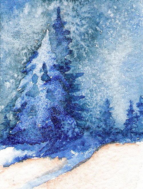 Marsha Woods - Celestial Sky Aceo Art Card