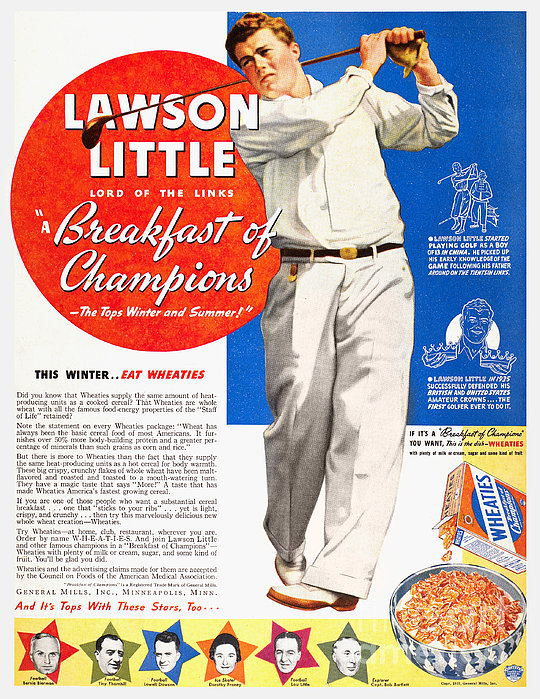 Cereal Advertisement, 1937 Print by Granger