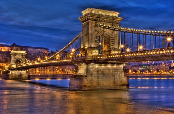 Matthew Bamberg - Chain Bridge--Budapest