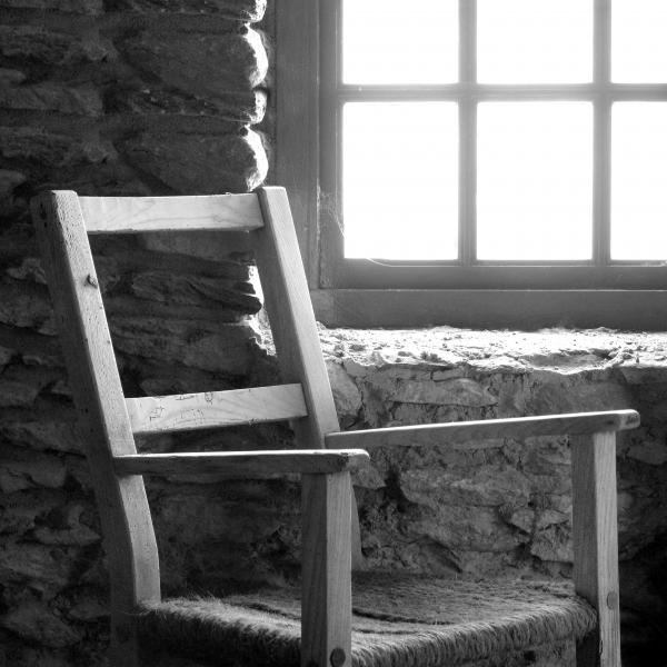 Chair By Window - Ireland Print by Mike McGlothlen