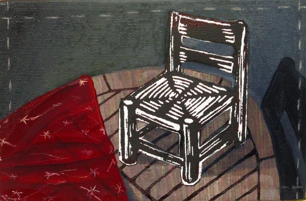 Chair II Print by Peter Allan