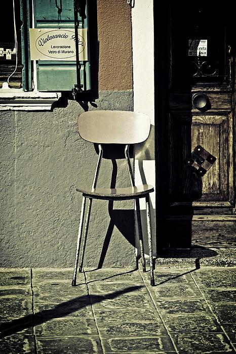 Chair Print by Joana Kruse