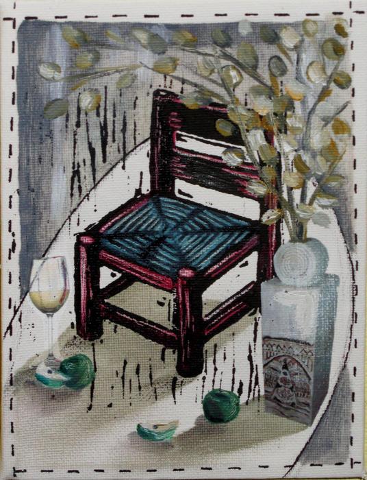Chair X Print by Peter Allan