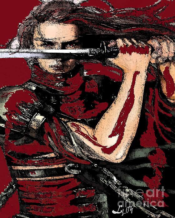 Chango Warrior Print by Liz Loz