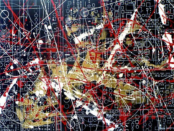 Chaos Theory Print by Tara Baden