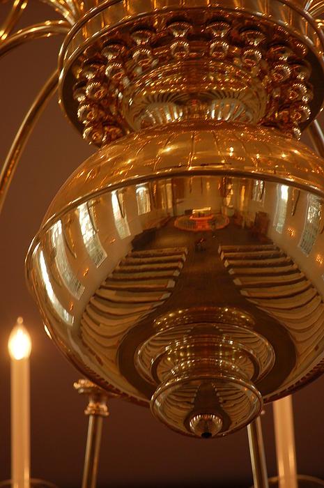 chapel lighting print by eamon forslund