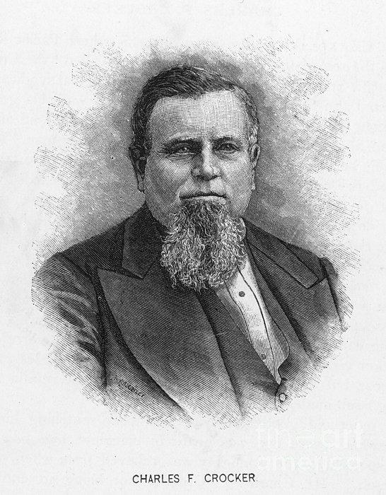 Charles Crocker (1822-1888) Print by Granger