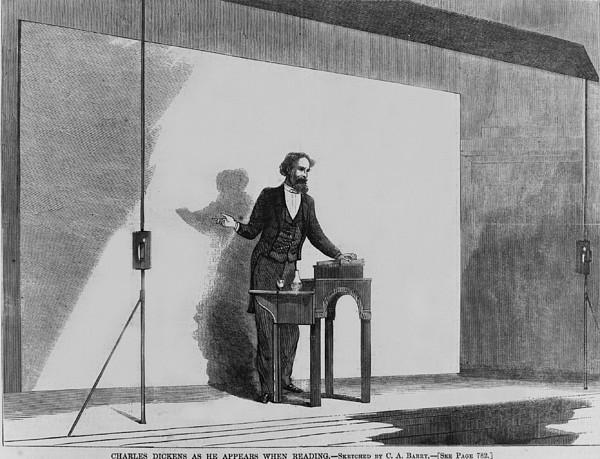 Charles Dickens 1812-1870 Print by Everett