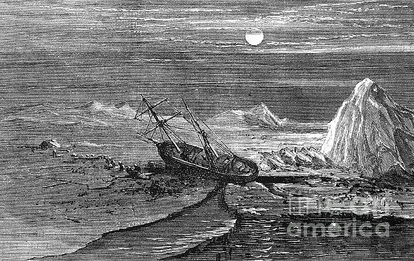 Charles Francis Hall Print by Granger