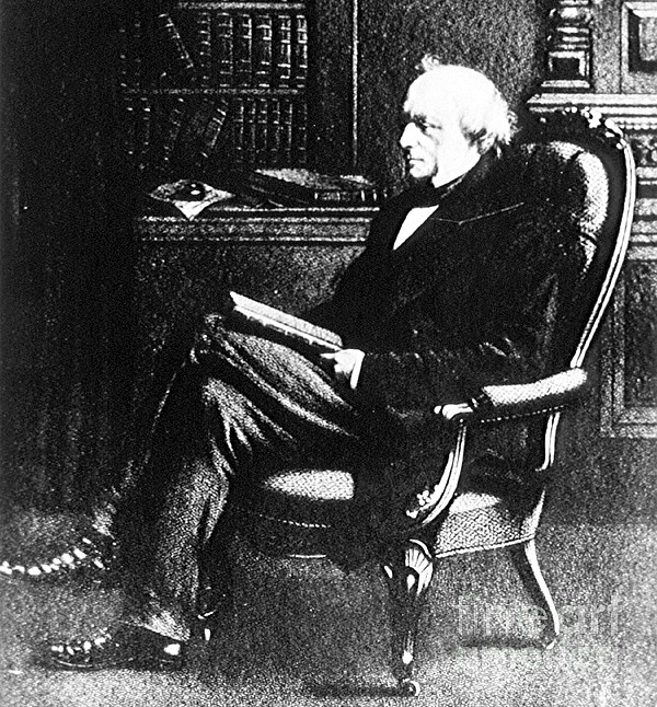 Charles Lyell, English Geologist Print by Science Source