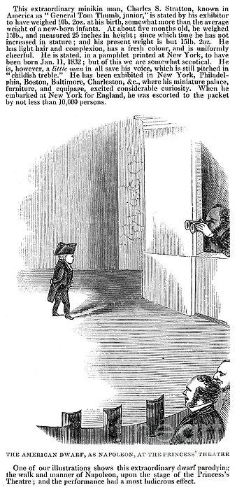 Charles Stratton Print by Granger