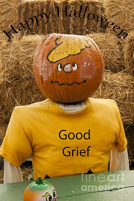 Charlier Brown Halloween Print by Darleen Stry