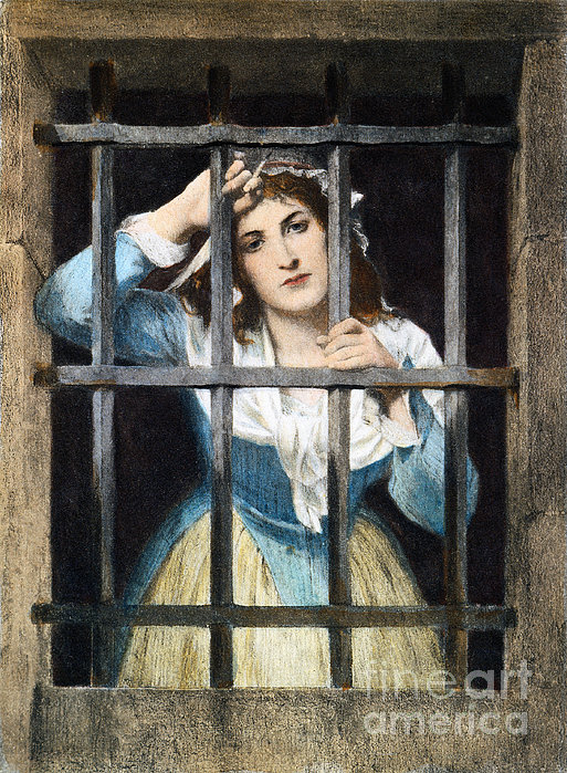 Charlotte Corday Print by Granger