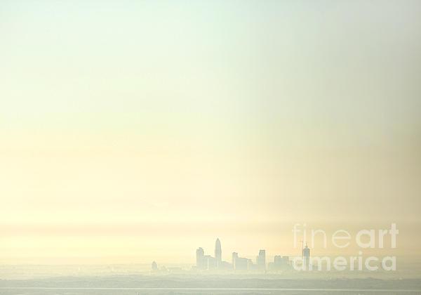 Charlotte Morning Mist Print by Patrick Schneider