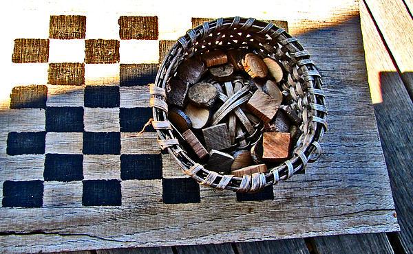 Checkers Print by Elisia Cosentino