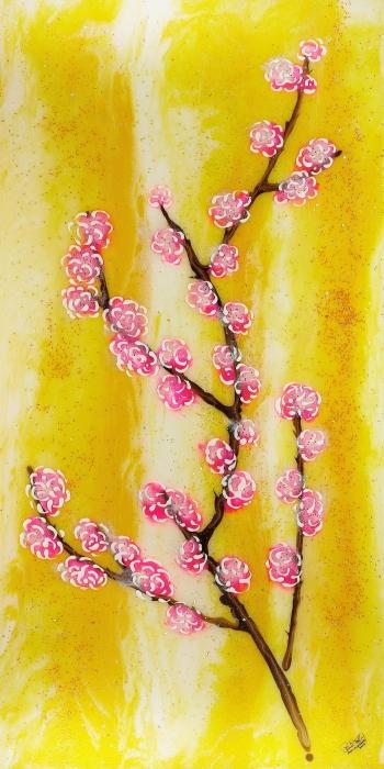 Cherry Blossoms Print by Paul Tokarski