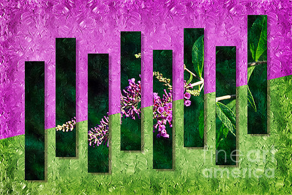 Andee Design - Cherry Lynn Butterfly Bush Abstract