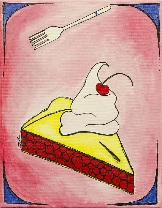Cherry Pie Print by Daniel MacGregor