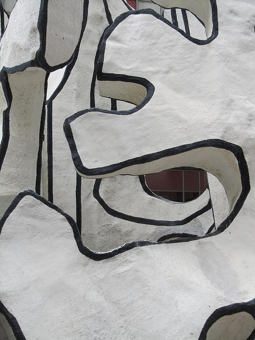Chicago Dubuffet-1 Print by Todd Sherlock