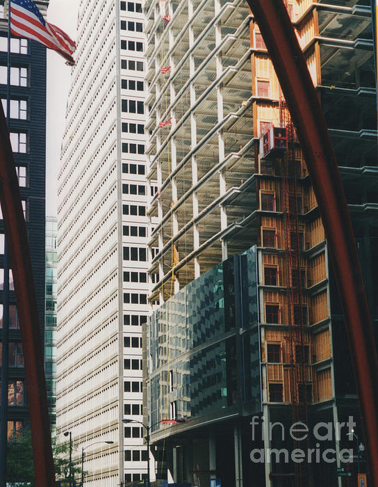 Chicago Geometry Print by First Star Art