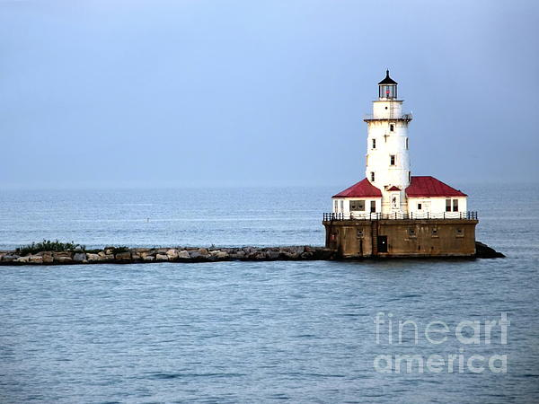 Chicago Lighthouse Print by Sophie Vigneault