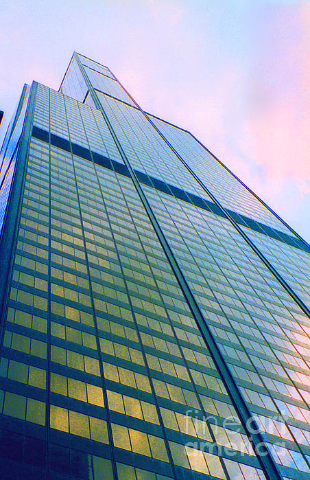 Chicago Sears Willis Tower Print by First Star Art